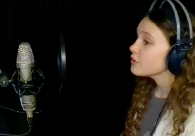 Macy O (age 12) singing Who Can You Trust by Ivy Levan
