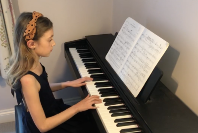 Sofia Kerr (age 10) playing Chanson de Matin by Edward Elgar on the piano